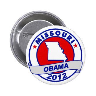 Obama - Missouri 6 Cm Round Badge