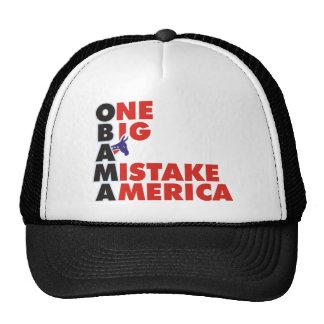 OBAMA MISTAKE 1 TRUCKER HATS
