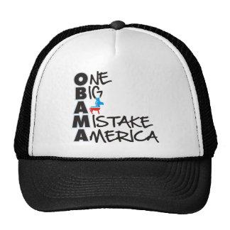 OBAMA MISTAKE 2 TRUCKER HATS