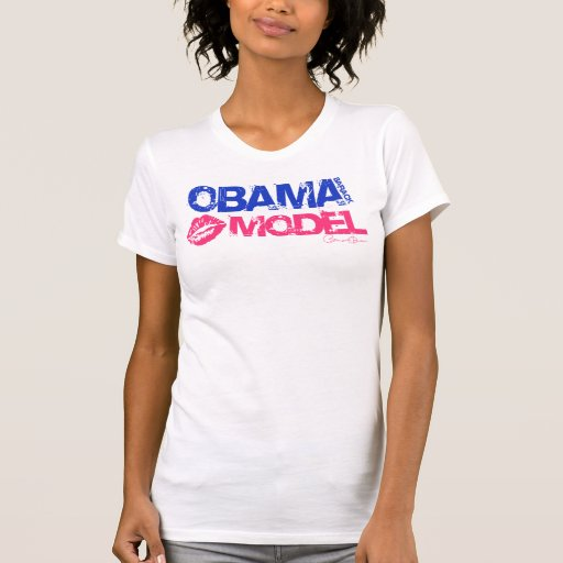 Obama Model Tshirt