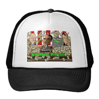 Obama More Money Mesh Hat