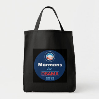 Obama MORMANS Grocery Tote Bag