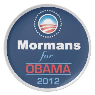 OBAMA MORMANS Plate