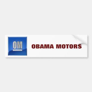 OBAMA MOTORS BUMPER STICKER