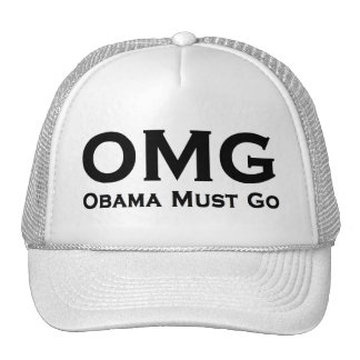 Obama Must Go Anti Obama Trucker Hats