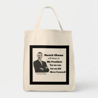 Obama My President Move Forward Bag