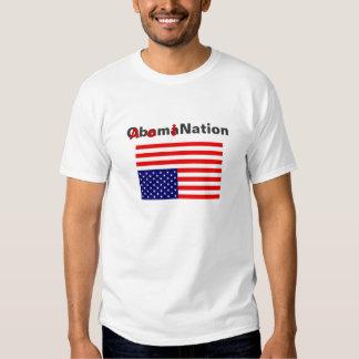 Obama Nation/Abomination T-shirts