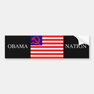 OBAMA NATION, BUMPER STICKER