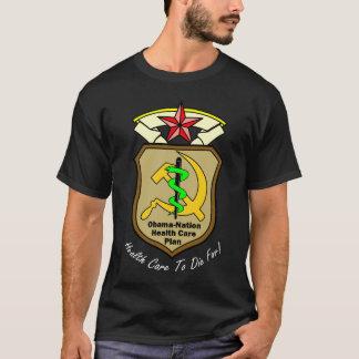 Obama-Nation Health Care T Dark T-Shirt