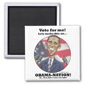 Obama-Nation Magnets