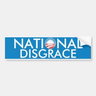 Obama National Disgrace Bumper Sticker
