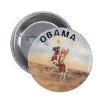 Obama / Native American Button