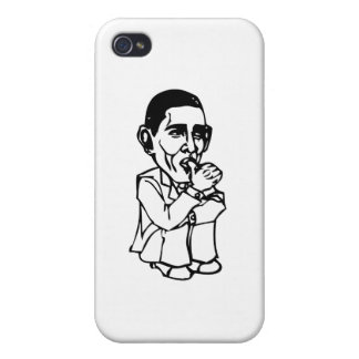 Obama needs a diaper change iPhone 4 cases
