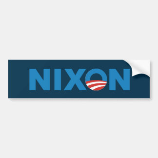 Obama Nixon bumper sticker