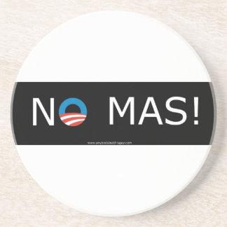 Obama- No Mas! Coasters
