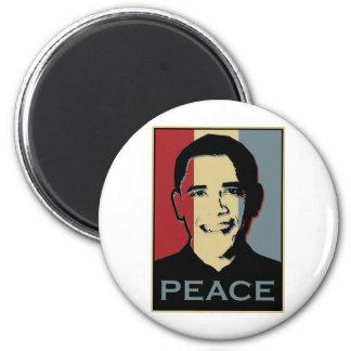 Obama Nobel Peace Prize 6 Cm Round Magnet