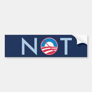 Obama NOT Bumper Sticker