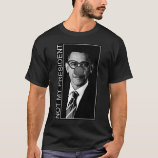 Obama Not My President Clown Glasses T-Shirt