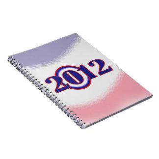 Obama O 2012 Campaign Spiral Notebook