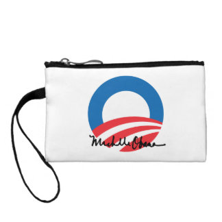 OBAMA O WITH MICHELLE OBAMA AUTOGRAPH -.png Change Purse