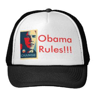 Obama, Obama Rules!!! Cap