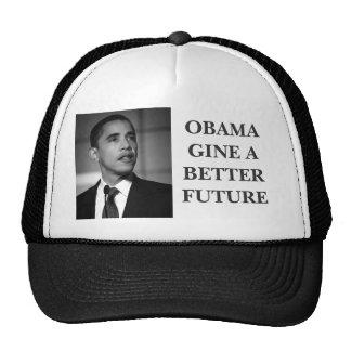 obama, OBAMAGINE A BETTER FUTURE.... Trucker Hat