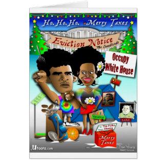 Obama Occupy White House Card