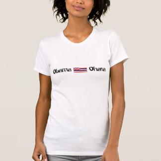 Obama, Ohana Hawaii Flag Women Tee Shirts