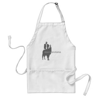 obama on a llama standard apron