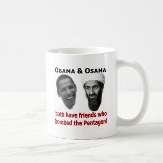 Obama & Osama Coffee Mug