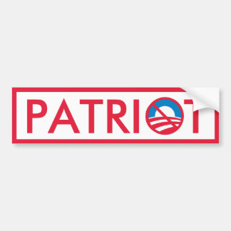 Obama Patriot Bumper Stickers
