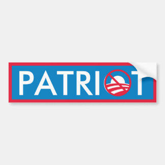 Obama Patriot Bumper Sticker