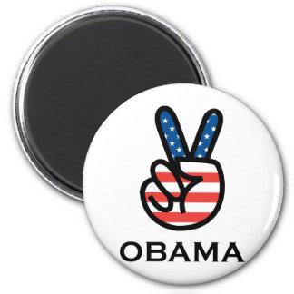 Obama Peace 6 Cm Round Magnet