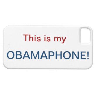 OBAMA PHONE* iPhone 5 CASES
