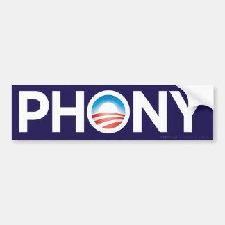 Obama Phony Bumper Sticker
