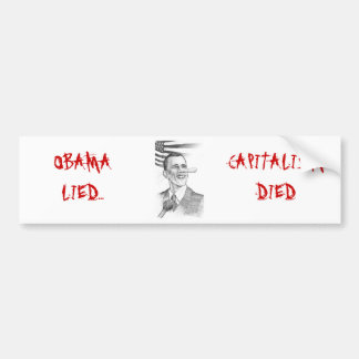 Obama - Pinocchio, Bumper Sticker