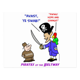 obama pirate avast postcard