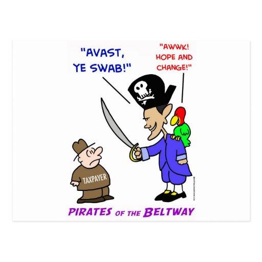 obama pirate avast post card