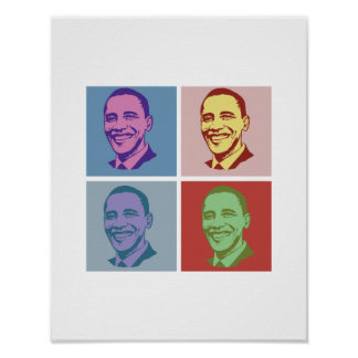 OBAMA POP ART -.png Posters
