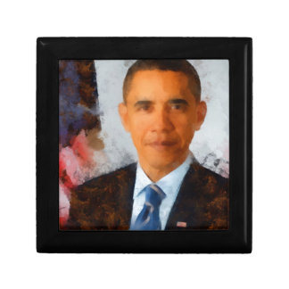 Obama Portrait Painting Gift Boxes