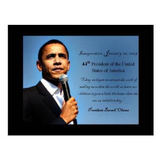 Obama postcard - 44th President