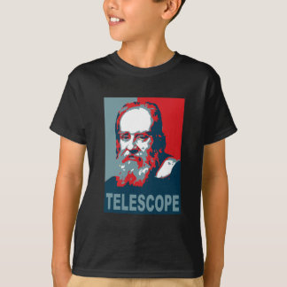 Obama Poster - Galileo Telescope T-Shirt
