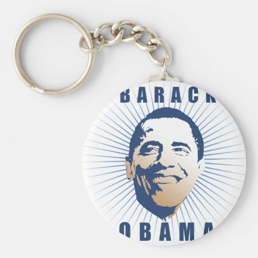 Obama Poster Key Chains