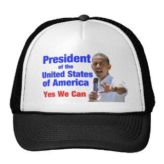 Obama POTUS Yes We Can - Hat
