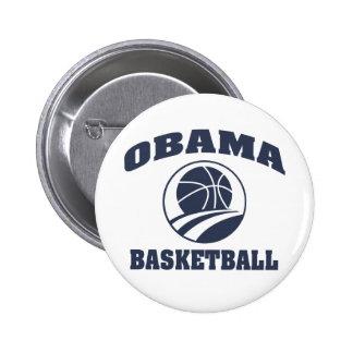 Obama premium basketball button