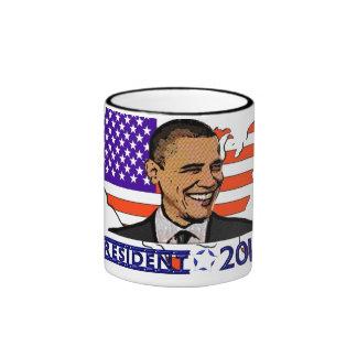 OBAMA PRESIDENT 2012 ELECTION COFFEE MUGS