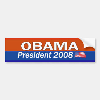 OBAMA President Bumper Sticker