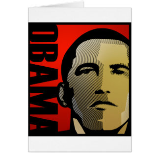 Obama President of The United States Card
