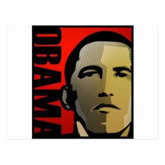 Obama President of The United States Postcard