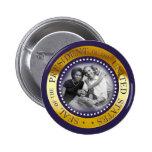 Obama Presidential Seal Portrait Pin